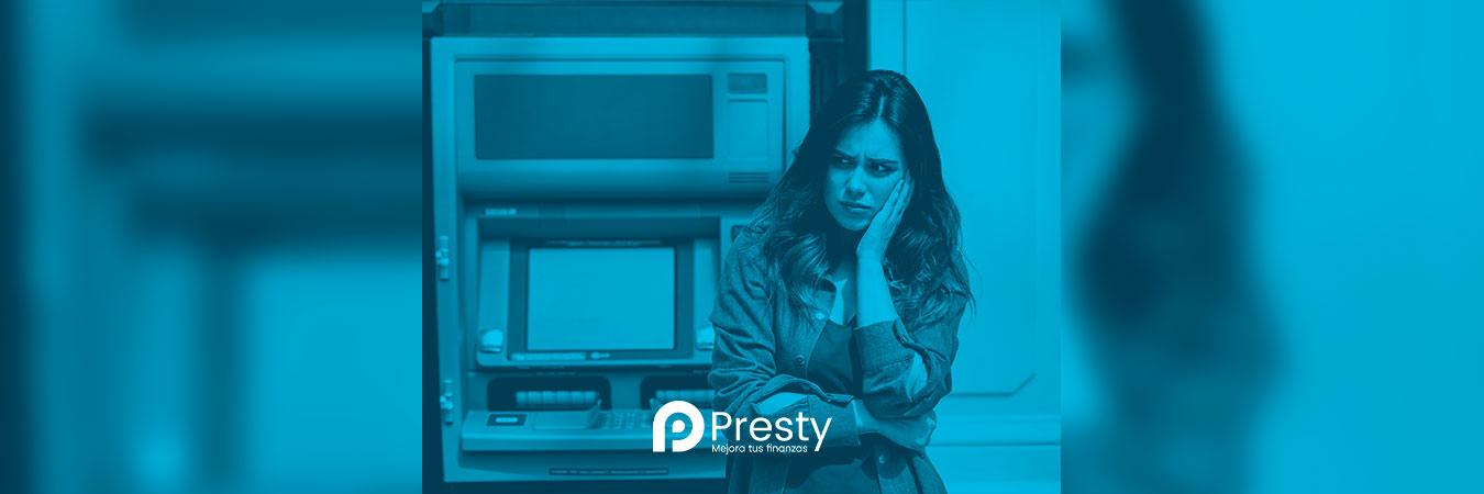 ¿Qué hacer si un cajero automático no da el dinero?
